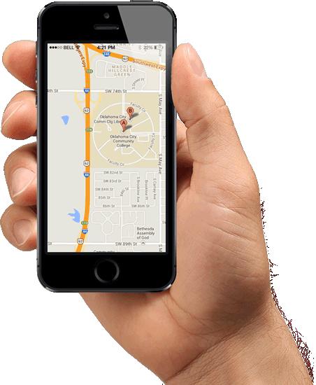 Aplicativo de rastreamento Maxsat, Aplicativo de monitoramento Maxsat
